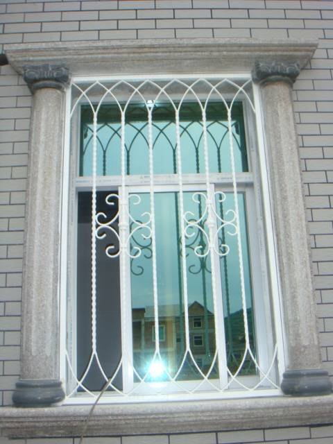 Window grill quanzhou forsun wrought iron co ltd for Window design pakistan