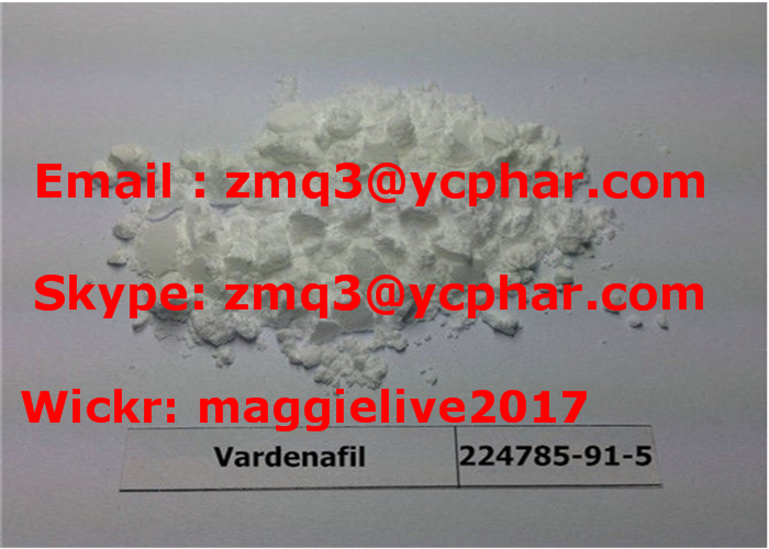 CAS 224788-91-5 High Purity Male Sex Hormones Vardenafil HCL / Levitra