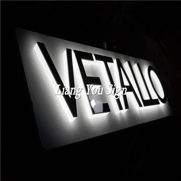 Outdoor And Indoor Led Light Street Advertising Business 3D Led Lighting Letters Sign