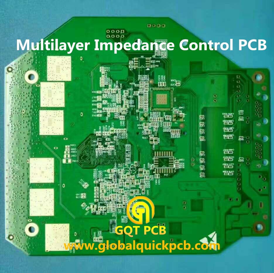 Impedance control multilayer PCB