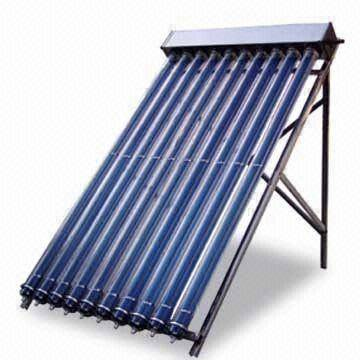 EN12975 Heat Pipe Solar Collector with Aluminum Frame, Easy Plug-in Installation