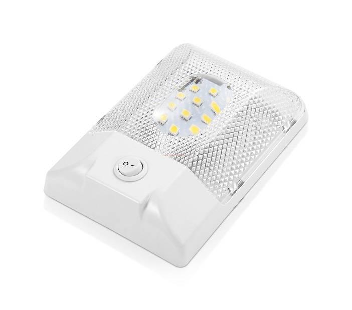 LED Dome Light Fixture Warm White 260lumen