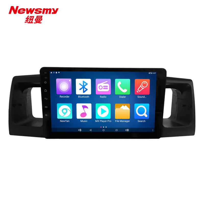 NM9050-H-H0 For Toyota Corolla EX 2013 no canbus Newsmy CarPad4 head unit Android 5.0 with Newyan