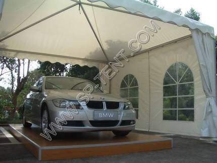 luxurious carport canopy for personal with flame retardant PVC