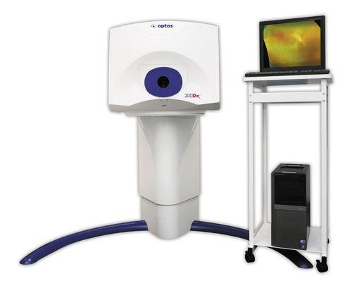 Optos 200DX Retinal Imaging