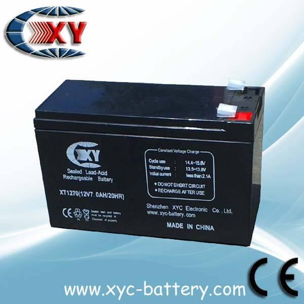 valve-regulated lead-acid battery 12V7.2AH