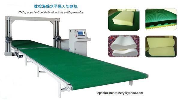 cnc contour cutting machine for sponge
