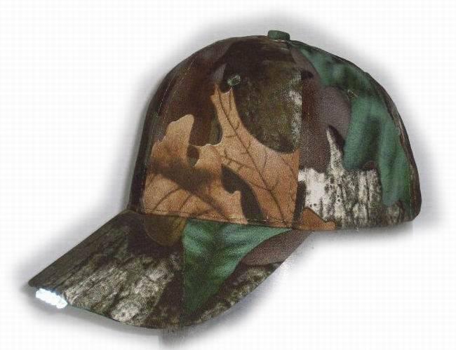Camouflage LED Cap