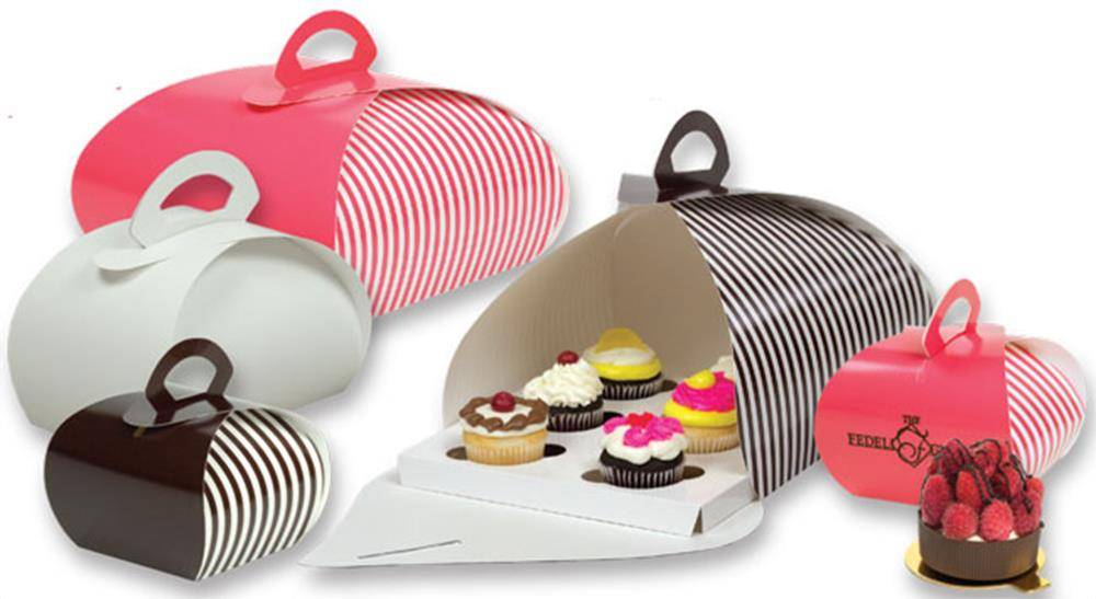 OEM China Factory Specialty Pastry Cupcake Carrier boxes