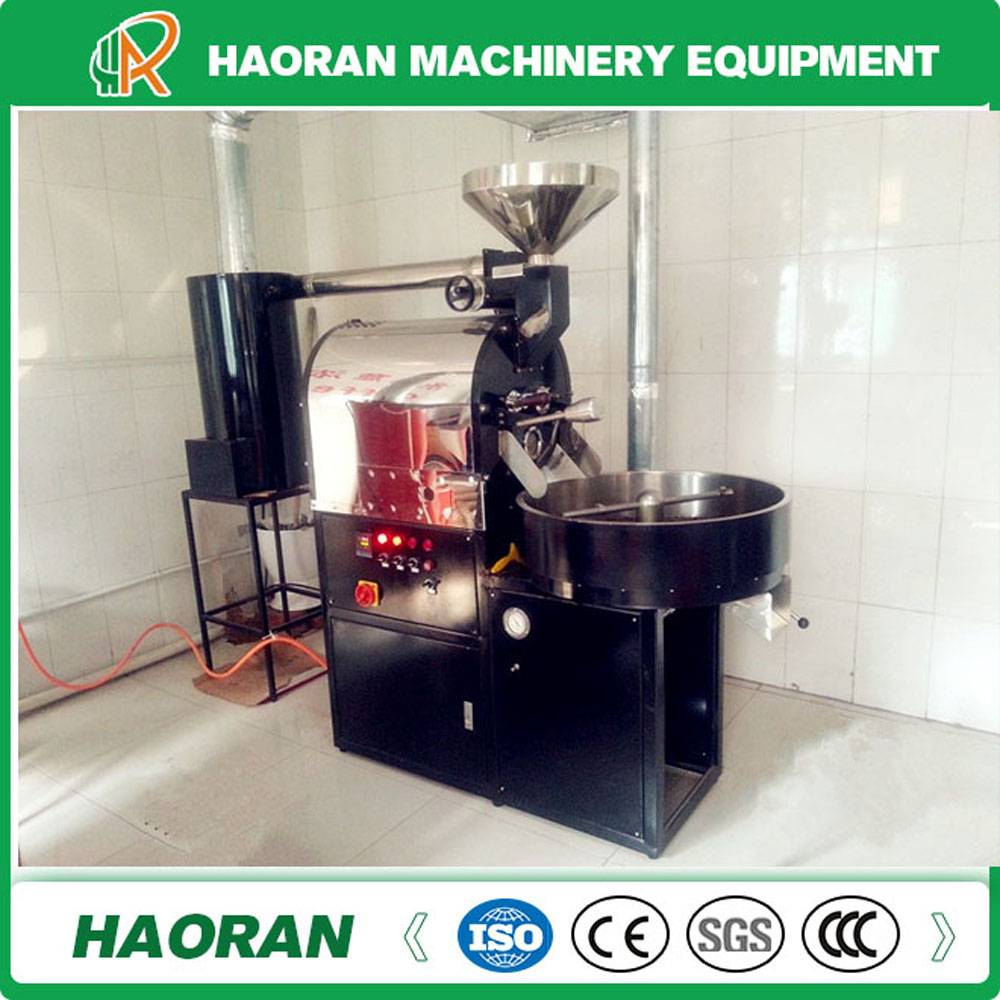 Commercial used 5kg /Batch Coffee Roaster with Gas Heating