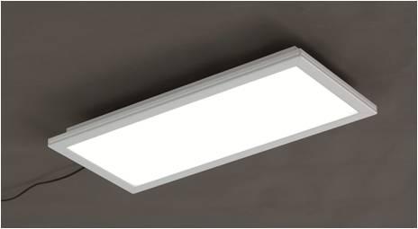 PANEL LIGHT 600X600 35W, 40W, 45W, 50W (SIDE VIEW)