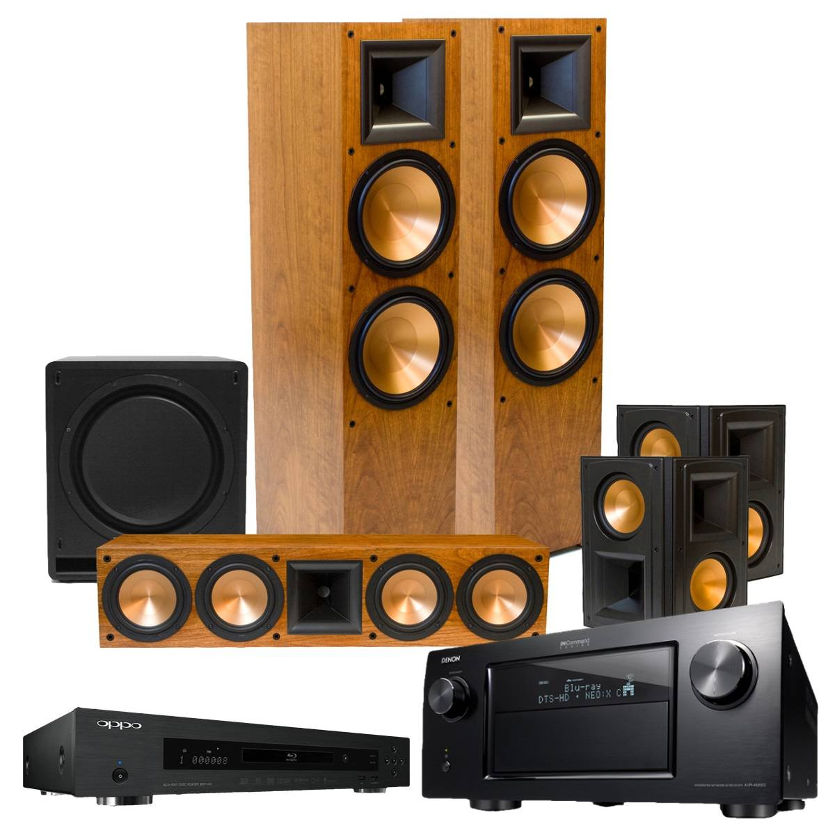 RF-7 II Reference Series 7.1 Home Theater System