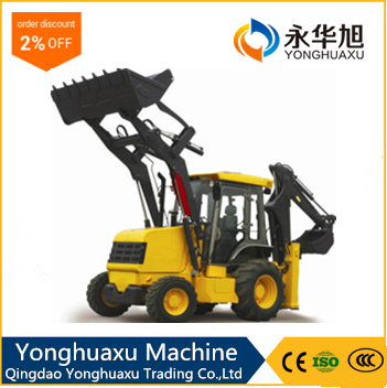 Chinese loader supplier CE certificated telescopic used wheel loader