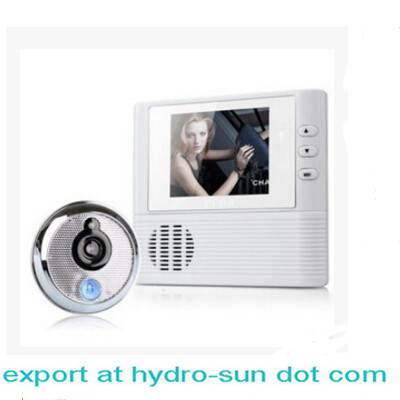 Digital wireless peephole viewer camera with 2.8'' LCD screen