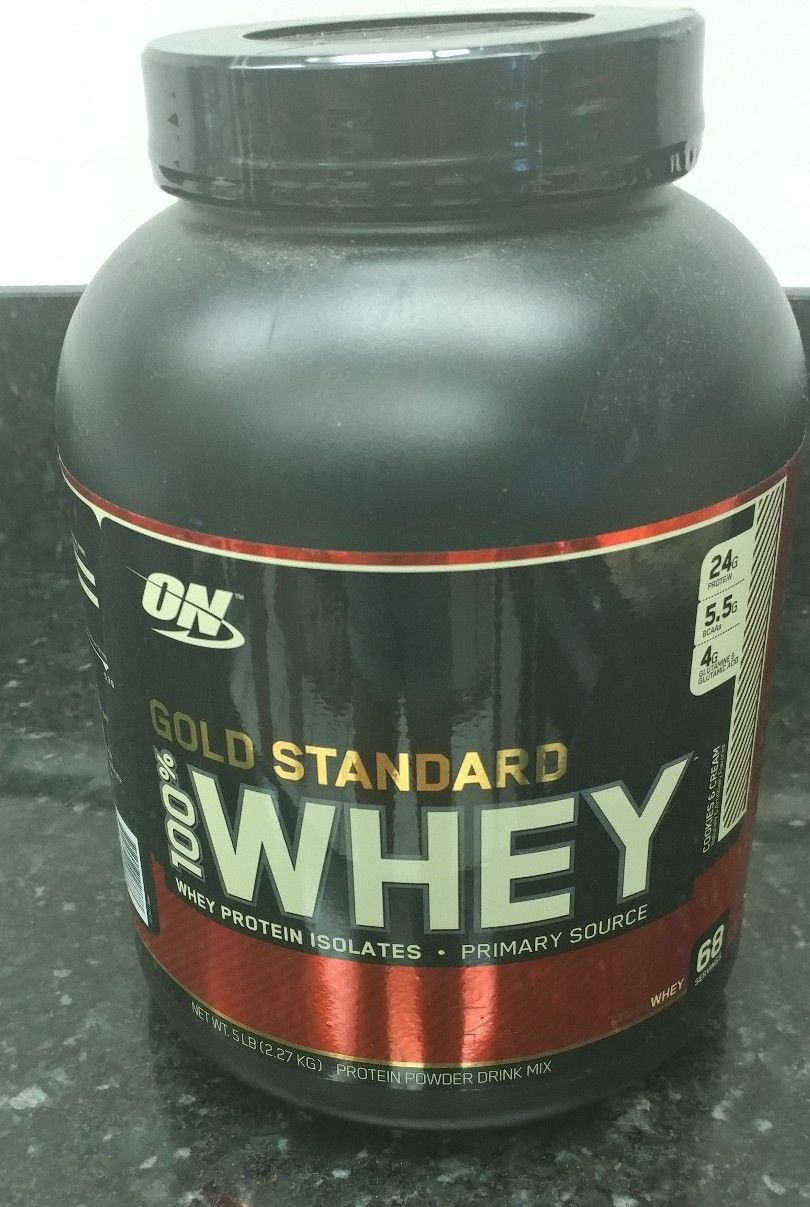 Authentic Optimum Nutrition Gold Standard