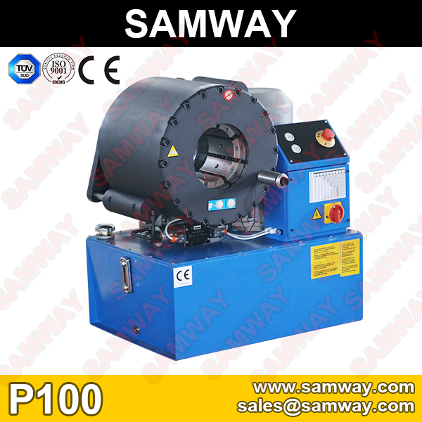 Samway P100 Industrial  Hose Crimping Machine