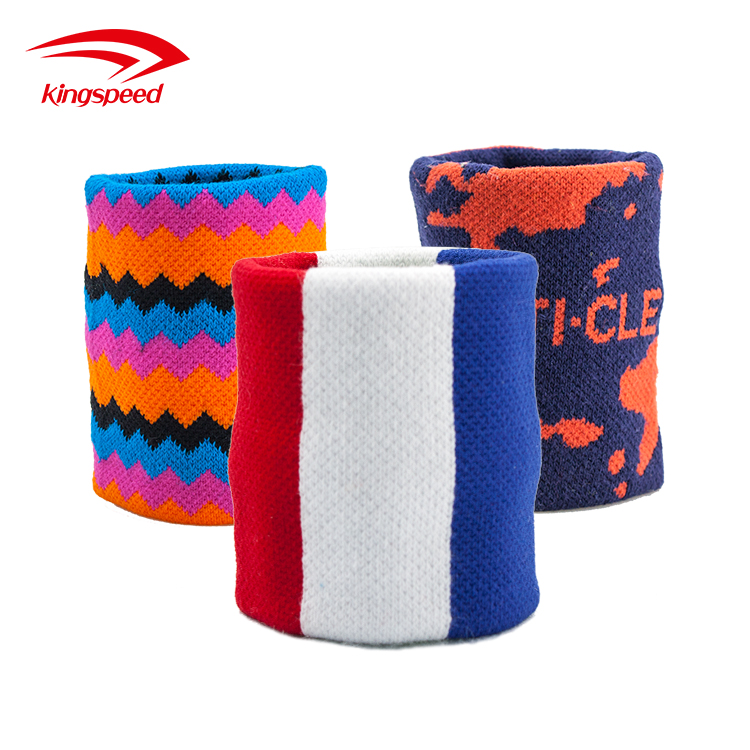 2017 cotton woven jacquard wristband with custom logo