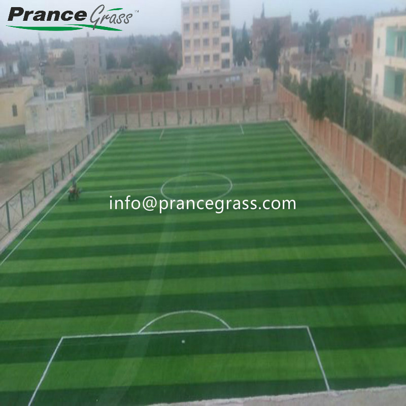 Fibrillated Short Hockey and Tennis Fake Lawn Artificial Grass
