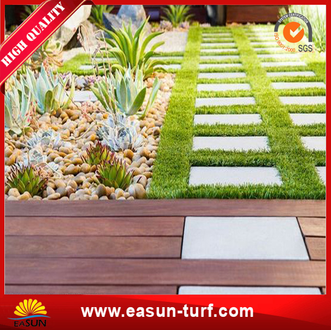 Eco-Friendly Artificial Garden Lawn Synthetic Turf for Garden-MY