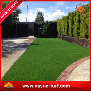 Chinese Outdoor Decoration color pink bule Artificial Grass with SGS- ML