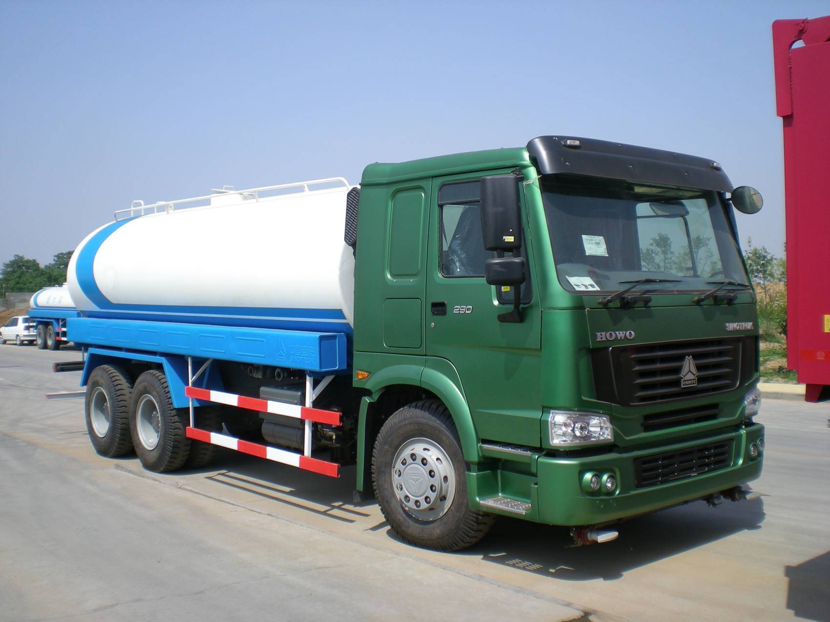 china water tank truck/watering cart
