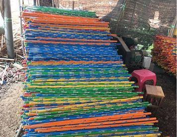broom or mop stick