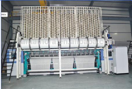 high performance Karl Mayer type raschel warp knitting machine