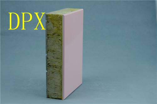 Rock Wood External Wall Insulation Phenolic Foam Board for Heat and Sound Insulated