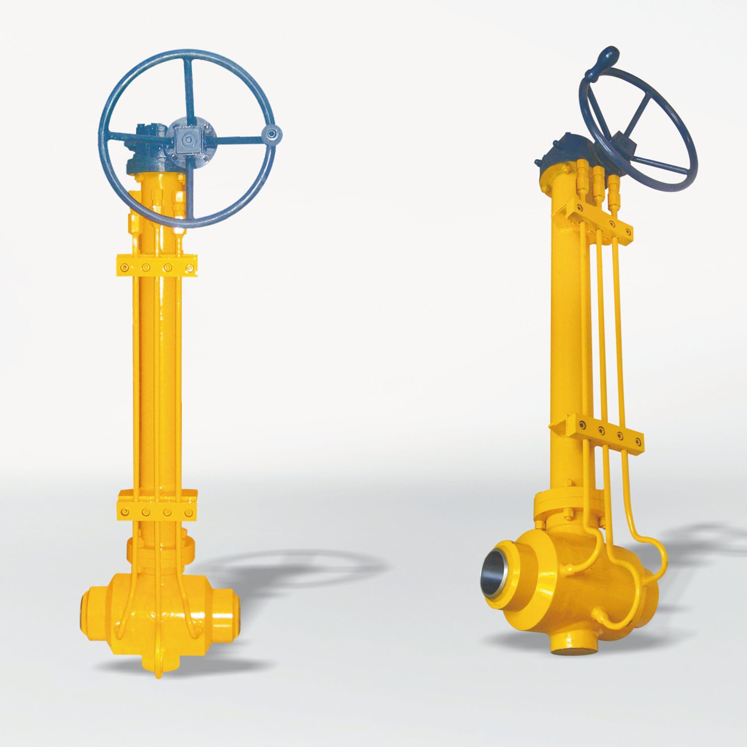 304 Worm Gear Ball Valves for Gas/Fuel Gas