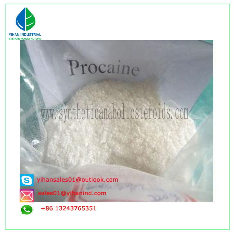Paypal Anesthetic Pharmaceutical Raw-Materialcas Steroid Pain Killer Powder Procaine (59-46-1) Judy