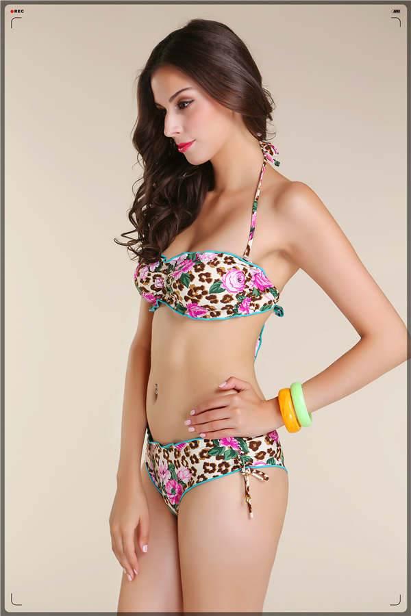 Girl's sexy micro bikini swimwear