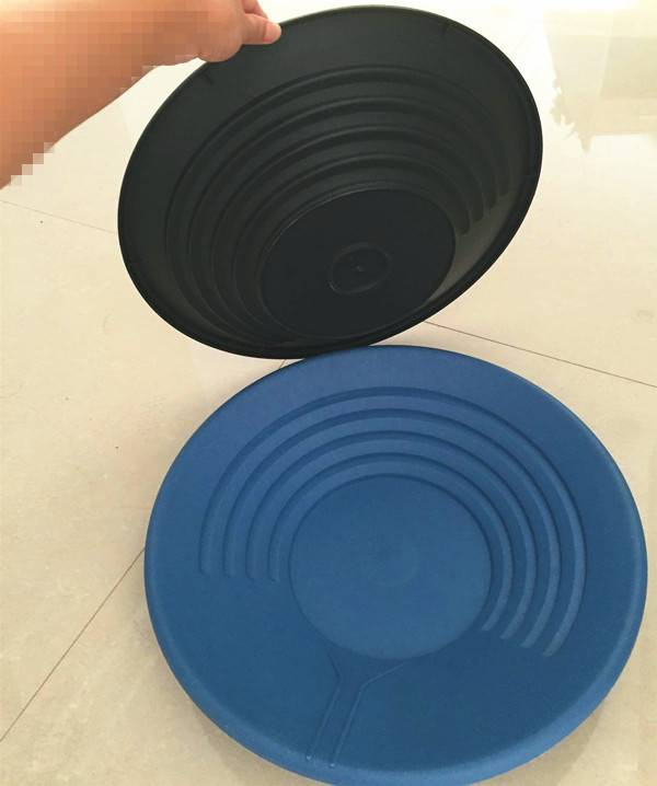 wholesale handle mining tool plastic gold panning kit gold pan