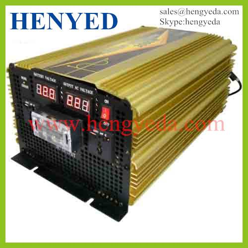 3000W DC/AC Pure Sine Wave solar Power Inverter with LED Display
