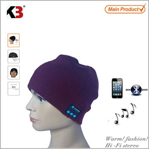 beanie with bluetooth function