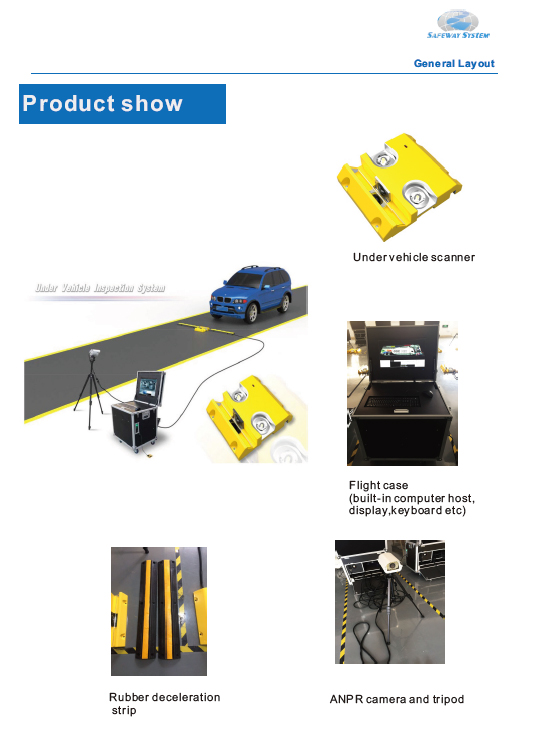 Car Passenger Vehicle Security Checking Unde Rvehicle Scanner to Check Vehicle Security