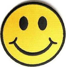 Custom Smile Face Embroidery Design,Iron On Patch