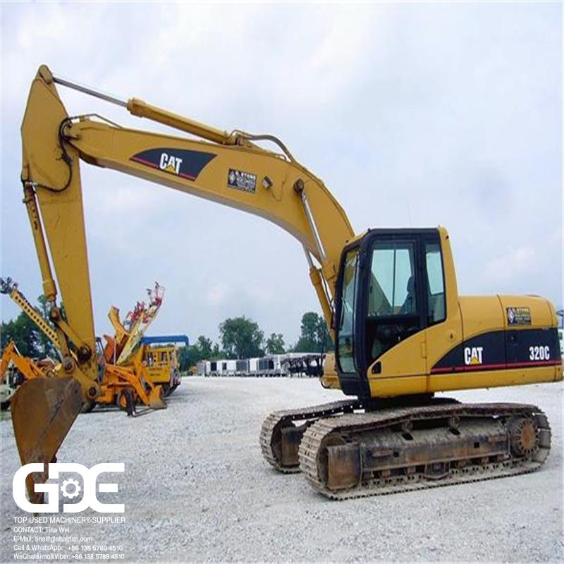 Used Excavator Caterpillar 320C 320D excavator Good Condition