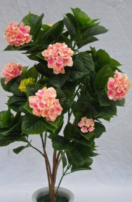Artificial Flowers Silk Hydrangea