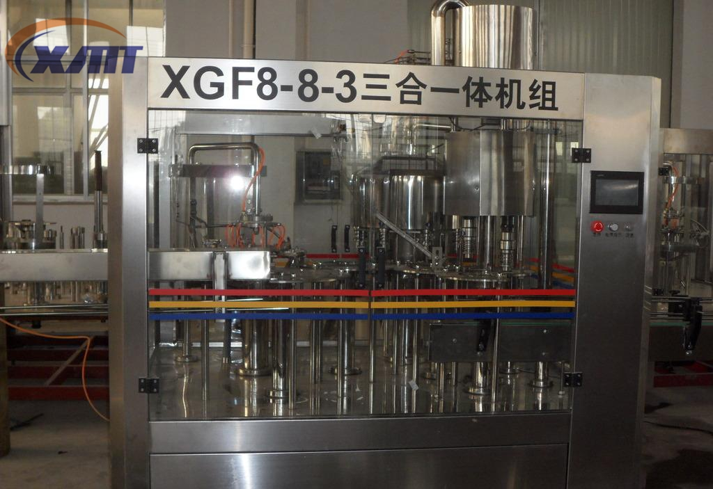 automatic CGF8-8-3 drinking water filling machine