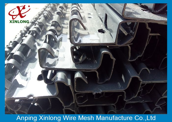 Powders Sprayed Coating Valuable Anthracite Grey 3D Wire Mesh Fence
