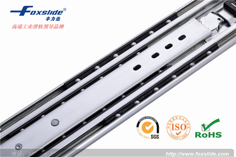china high quality furniture full extionsion ball bearing roller slide for drawer 900mm
