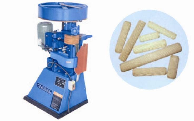 Automatic wooden dowel/pin machine for furniture components