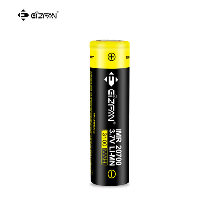 ODM Efan IMR 20700 3100mAh 30A/40A 3.7V Battery