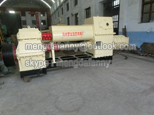 compact two-stage sintered/hollow vacuum extruder
