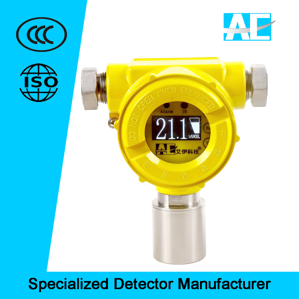 Industrial Wall-mounted Fixed Toxic Gas Detector