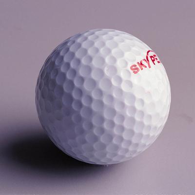 blue golf balls