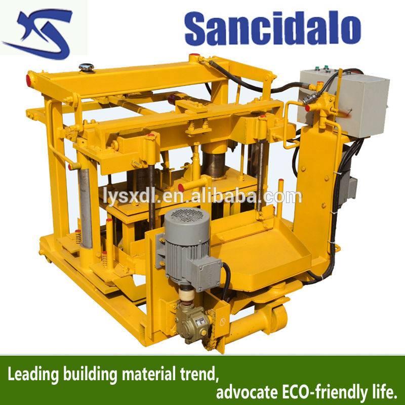 QT40-3A egg laying hollow brick making machine