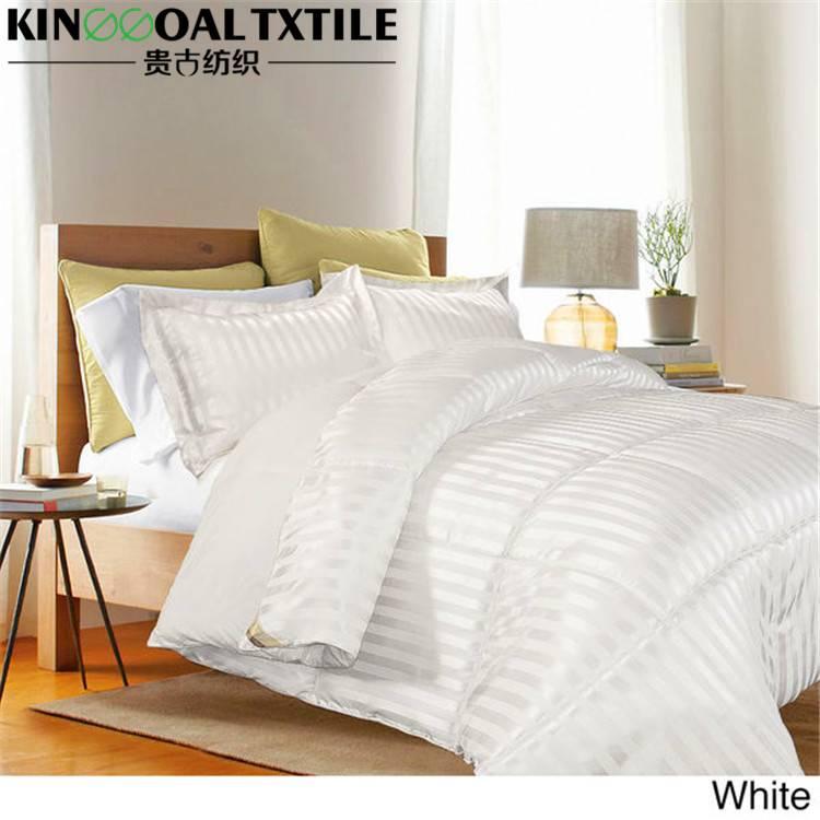Ivory silk bed linen