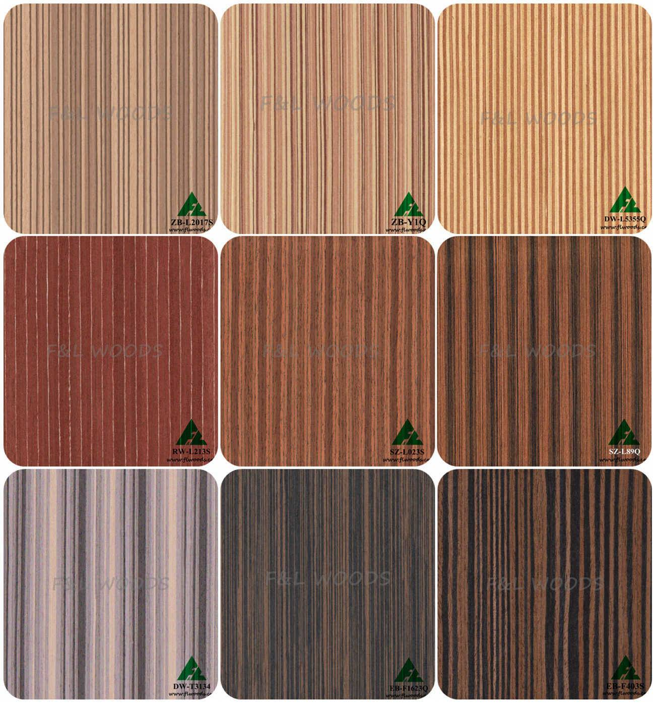 engineered wood veneer,reconstituted veneer,recomposed veneer