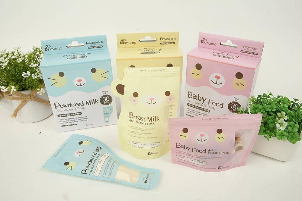 Breastmilk Storage Bag for baby use